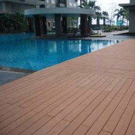 Wood Plastic Comp WPC Flooring